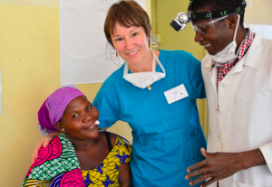 Crouch end dentist Monika providing dentistry in Tanzania